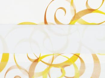 Фото «зебра АВАНГАРД 3499 оранжевый, 280 см»